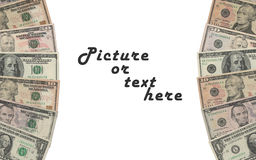Dollar Rahmen Stockfotos