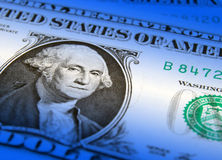 Dollar recovery Stock Image