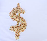 Dollar rice Stock Images