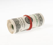 Dollar roll Stock Photos