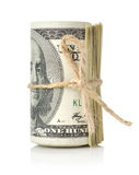 Dollar roll Royalty Free Stock Images