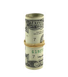Dollar Roll Royalty Free Stock Photos