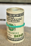 Dollar Rollen- Stockbild