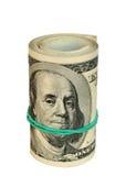 Dollar Rollen- Lizenzfreie Stockbilder