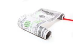 Dollar Rollen- Lizenzfreie Stockfotos