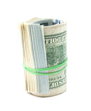 Dollar Rollen- Stockfotografie