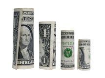 Dollar rolls Stock Photo