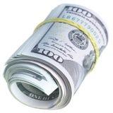 dollar rullar oss Arkivfoto