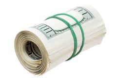 dollar rulle Royaltyfri Fotografi