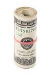 dollar rulle Arkivbilder
