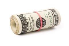 dollar rulle Arkivfoto