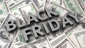 Dollar's Black Friday Stock Photos