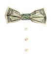 Dollar S Bow-tie Stock Photo