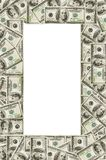 Dollar's frame Royalty Free Stock Photo