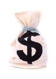 Dollar sack Royalty Free Stock Images