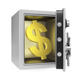 Dollar Safe Stock Photography