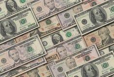 Dollar samling Royaltyfri Bild