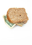 Dollar sandwich Stock Photos