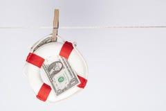 Dollar saver Royalty Free Stock Image