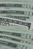 100 Dollar schließen oben Lizenzfreie Stockbilder