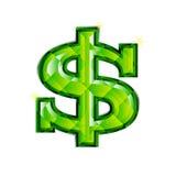 Dollar-Schmucksachen lizenzfreie abbildung