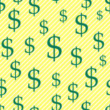 Dollar pattern Stock Photography