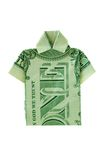 Dollar Shirt. Shirt with collar made from a one dollar bill Royalty Free Stock Photography