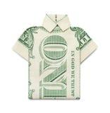 Dollar Shirt Stock Photo