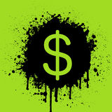 Dollar Sign. Vector illustration of the dollar sign Stock Photo