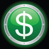 Dollar Sign. Vector illustration of a dollar sign Stock Photography