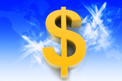 Dollar sign Royalty Free Stock Photography