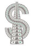 Dollar sign Royalty Free Stock Photos