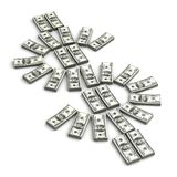 Dollar sign. Stack of Dollar ( Computer generated image Vector Illustration