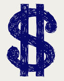 Dollar sign Royalty Free Stock Image