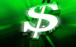 Dollar sign Royalty Free Stock Photo