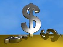 Dollar sign Stock Image