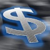 Dollar sign background Royalty Free Stock Image