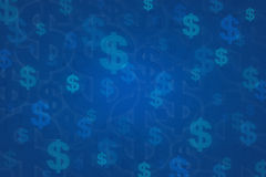 Dollar sign for background. Money concept Royalty Free Stock Photography