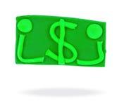 Dollar sign. Stock Photos