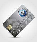 Dollar sign - credit card Royalty Free Stock Photo
