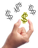 Dollar sign Royalty Free Stock Images