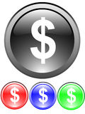 Dollar sign icon Royalty Free Stock Photo