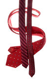 Dollar sign made with neckties Royalty Free Stock Photo