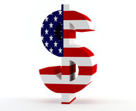 Dollar sign USA Stock Images