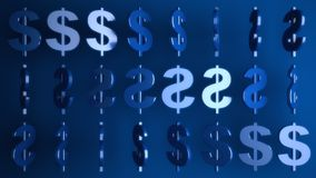 Dollar signs Royalty Free Stock Image