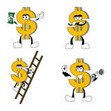 Dollar Signs Stock Images