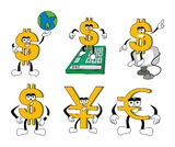 Dollar Signs Royalty Free Stock Images