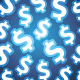 Dollar Signs Background Stock Photo