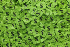 Dollar signs Stock Photography