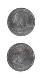 Dollar silver liberty coins Stock Photo